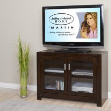"<strong>kathy ireland Home by Martin Furniture</strong> Carlton Entertainment 40"" TV Stand"