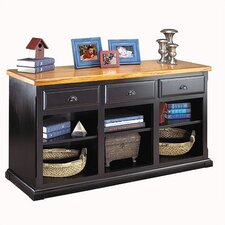 Southampton Onyx 3 Drawer Console Table