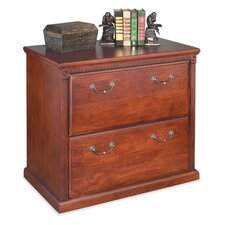 <strong>kathy ireland Home by Martin Furniture</strong> Huntington Club Two-Drawer Lateral File