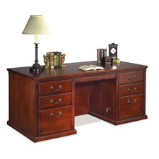 <strong>kathy ireland Home by Martin Furniture</strong> Double Pedestal Executive Desk