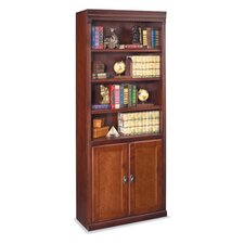 "Huntington Club 72"" H Bookcase with Lower Doors"