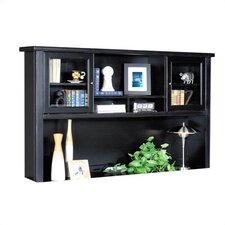 "Tribeca Loft 43"" H x 68.25"" W Desk Hutch with Sliding Doors"