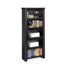 "Tribeca Loft - Black 61"" Bookcase"