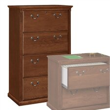 <strong>kathy ireland Home by Martin Furniture</strong> Huntington Club Four-Drawer Lateral File