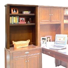 "<strong>kathy ireland Home by Martin Furniture</strong> Tribeca Loft 41"" H x 30"" W Desk Hutch"