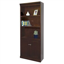"<strong>kathy ireland Home by Martin Furniture</strong> Fulton Lower Door 72"" Bookcase"