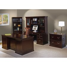 <strong>kathy ireland Home by Martin Furniture</strong> Fulton Standard Desk Office Suite