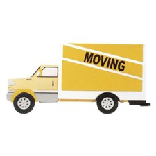 3-D Non-Adhesive Moving Truck Embellishment
