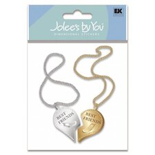 Best Friends Forever Necklace Embellishment