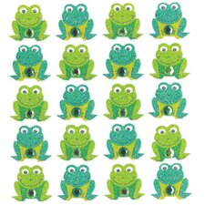 Repeats Frog Stickers