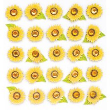 Repeats Sunflower Stickers