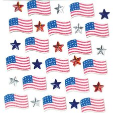 Repeats July 4th Stickers