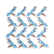 Repeats Blue Jay Stickers