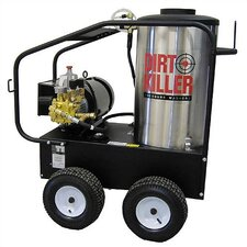 <strong>Dirt Killer</strong> 4.0 GPM / 3000 PSI Hot Water 3 Phase Electric Pressure Washer