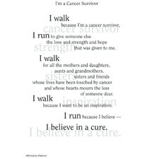 Poems For A Page Cancer Survivor Sticker