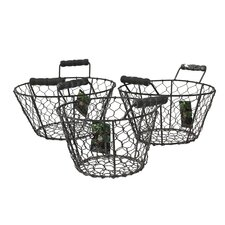 <strong>Cadix</strong> Netty Basket (Set of 3)