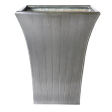 Flare Stripe Square Planter