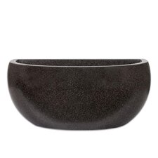 Wall Oval Planter in Black