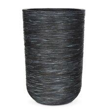 Cylinder Rib Round Planter