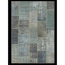 <strong>Angelo</strong> Up-Cycle Blue Contemporary Rug