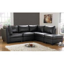 Cube Bonded Leather Seating Group