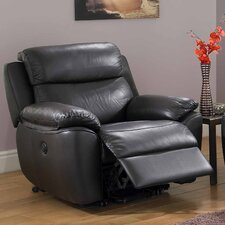Kansas Bonded Leather Tilt and Lift Recliner Chair