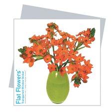 Flat Flowers Greetings in Windlily (Set of 6)