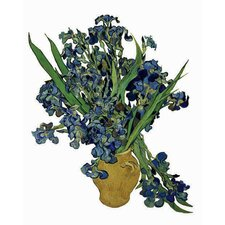 Flat Flowers Greetings Van Gogh in Irises (Set of 6)