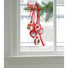 Limited Christmas Edition Window Decals in Red