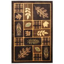Rustic Leaves Rug