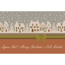 Christmas Avenue Novelty Rug