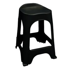 "<strong>Adams Manufacturing Corporation</strong> RealComfort 24"" Barstool (Set of 2)"