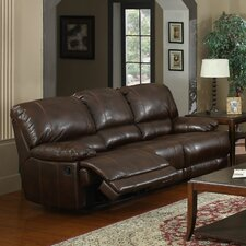 Carlos Bonded Leather 3 Seater Reclining Sofa