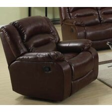 Novella Bonded Leather Recliner
