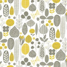 <strong>Loboloup</strong> Meadow Flocked Wallpaper