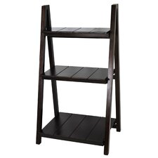 "Manhasset Slatted 42"" Folding Bookcase"