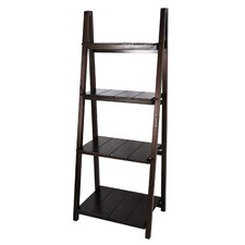 "Manhasset Slatted 60"" Folding Bookcase"