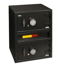 "AMSEC's ""B"" Rate Money Manager Series Undercounter Two Door Depository Safes"