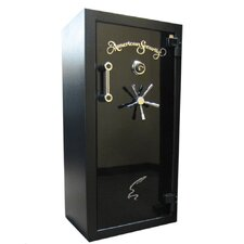 1.5 Hr Fire Resistant Dial Lock Gun Safe