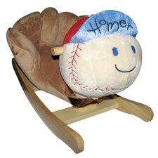 Homer Baseball Rocker