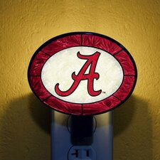 NCAA Art Glass Night Light
