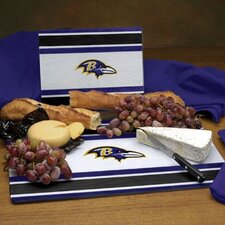 NFL Glass Cutting Board Set