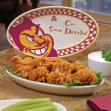 NCAA Gameday Ceramic Oval Platter