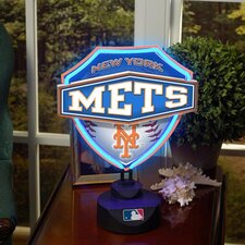 MLB Neon Shield Table Lamp