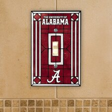 NCAA Art Glass Switch Cover