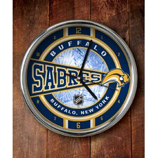 NHL Chrome Clock