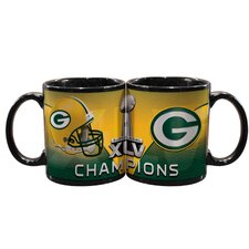2011 NFL Super Bowl Championship 11 oz. Mug
