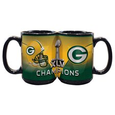 NFL 2011 Super Bowl Championship 15 oz. Mug