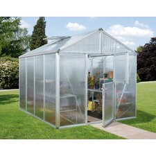 Zeus Greenhouse with Float Glass Side