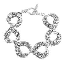 Foliage Toggle Link Bracelet